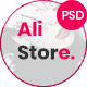 AliStore - Responsive eCommerce PSD Template