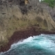 High Cliff Near Ocean on Nusa Penia Island, Indonesia - VideoHive Item for Sale