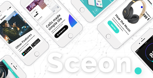 Sceon – A Theme for Apps and Startups