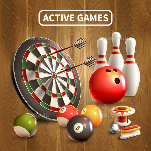 Games Realistic Concept - Sports/Activity Conceptual