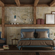 Master bedroom in rustic style - PhotoDune Item for Sale