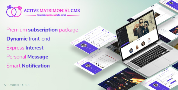 Active Matrimonial CMS - CodeCanyon Item for Sale