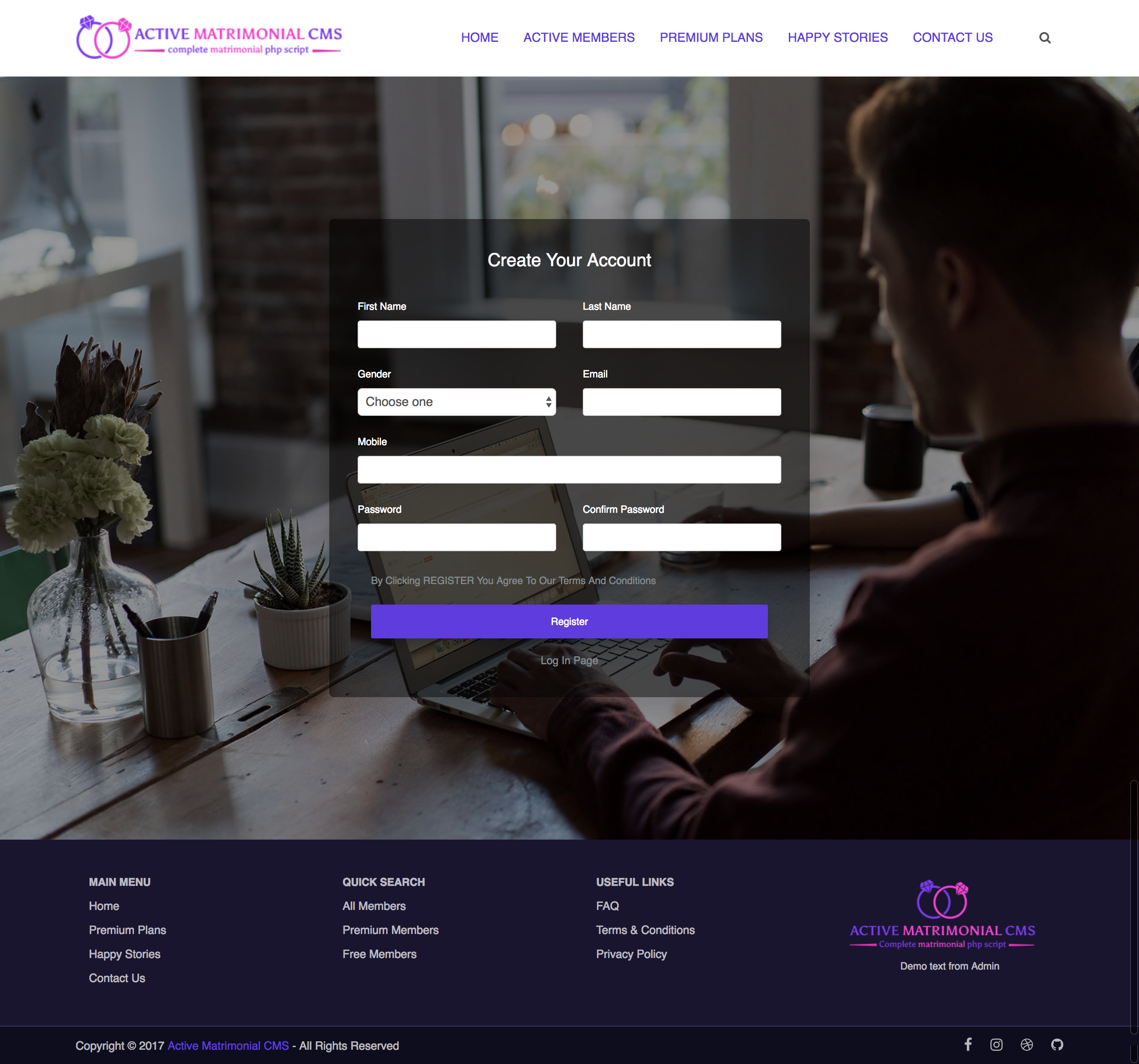 Active Matrimonial CMS by ActiveITzone | CodeCanyon