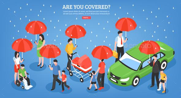 Insurance Services Design Concept - Health/Medicine Conceptual