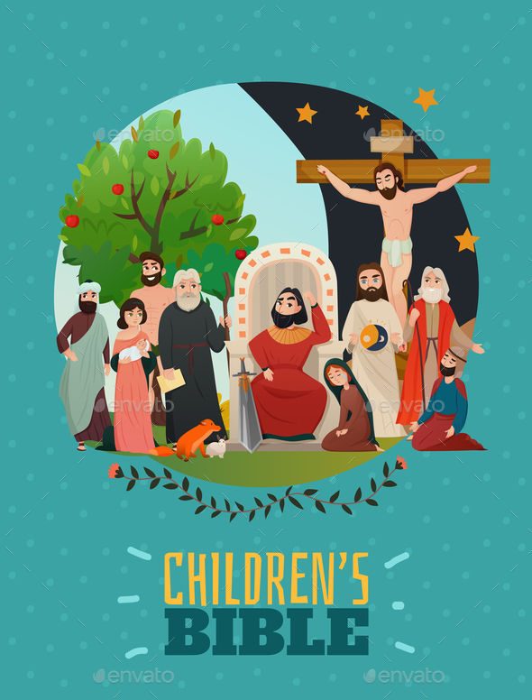 Bible Story Poster - Religion Conceptual