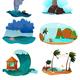Seaside Landscapes Set
