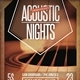Acoustic Nights Flyer