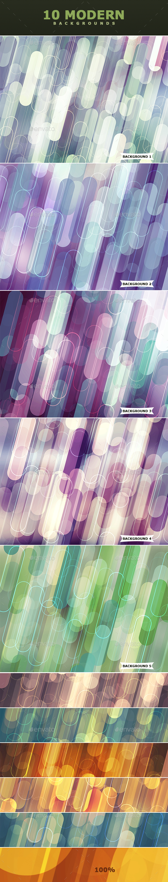 Modern Photoshop Backgrounds - Abstract Backgrounds