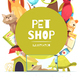 Pet Shop Frame Background - GraphicRiver Item for Sale