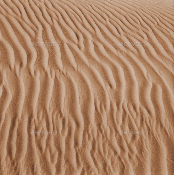 Sand dune background - Stock Photo - Images