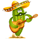 Cinco De Mayo Cactus - GraphicRiver Item for Sale