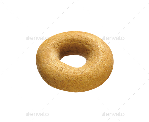 Bagel isolated on a white background - Stock Photo - Images