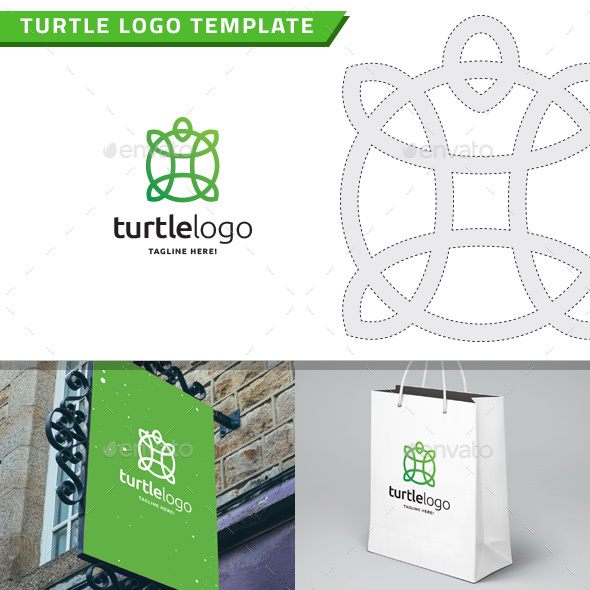 Turtle Logo - Animals Logo Templates