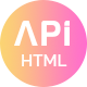 API - App Landing HTML Template - ThemeForest Item for Sale