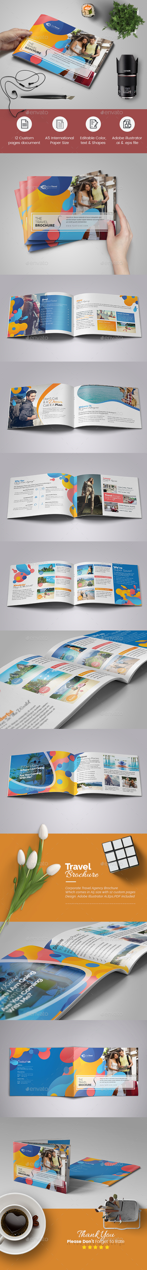 A5 Travel Agency Brochure - Corporate Brochures