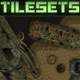 Top-Down Shooter: Tileset - GraphicRiver Item for Sale