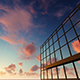 Sunrise Reflecting Over Building - VideoHive Item for Sale