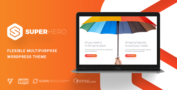 Superhero — Creative Multi-Purpose WordPress Theme - Creative WordPress