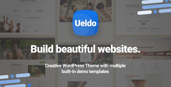 Image of Ueldo - Responsive Multi-Purpose WordPress theme