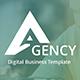 Agency Digital Business Google Slide Template - GraphicRiver Item for Sale