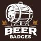 Set of Vintage Beer Emblems. - GraphicRiver Item for Sale