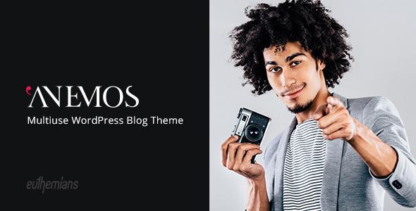 Anemos - A Multiuse Blogging WordPress Theme - Blog / Magazine WordPress
