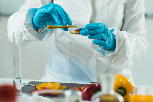 Food safety, vegetables - Stock Photo - Images