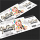 Glow Party Event Ticket - GraphicRiver Item for Sale