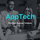 Apptech Deck Business Google Slide Template