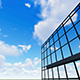 Sky and Clouds Reflecting Over Building - VideoHive Item for Sale