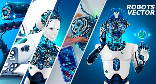 Robotic arm, Cyborgs, Robots, AI, Industry 4