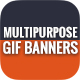 Animated GIF Banner Ads - Multipurpose, Corporate, Business Banner Ad