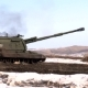 Shot of Russian Army 2S19 Msta-S Self-propelled Howitzer - VideoHive Item for Sale