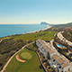 Mediterranean Coastline with View of Luxury Housing, Golf Course, Sea in Spain - VideoHive Item for Sale