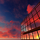 Sunset Reflecting Over Building - VideoHive Item for Sale