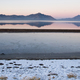 Bonneville Salt Flats Graham Peak Sunset Mountain Range Snow Mir - PhotoDune Item for Sale