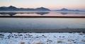 Bonneville Salt Flats Graham Peak Sunset Mountain Range Snow Mir - PhotoDune Item for Sale