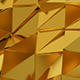 Gold Polygons Loop - VideoHive Item for Sale