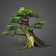 Game Ready Low Poly Tree 05