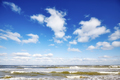 Blue sky with clouds over a sea - PhotoDune Item for Sale