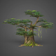 Game Ready Low Poly Tree 10