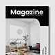 Minimal Interior Design Magazine - GraphicRiver Item for Sale