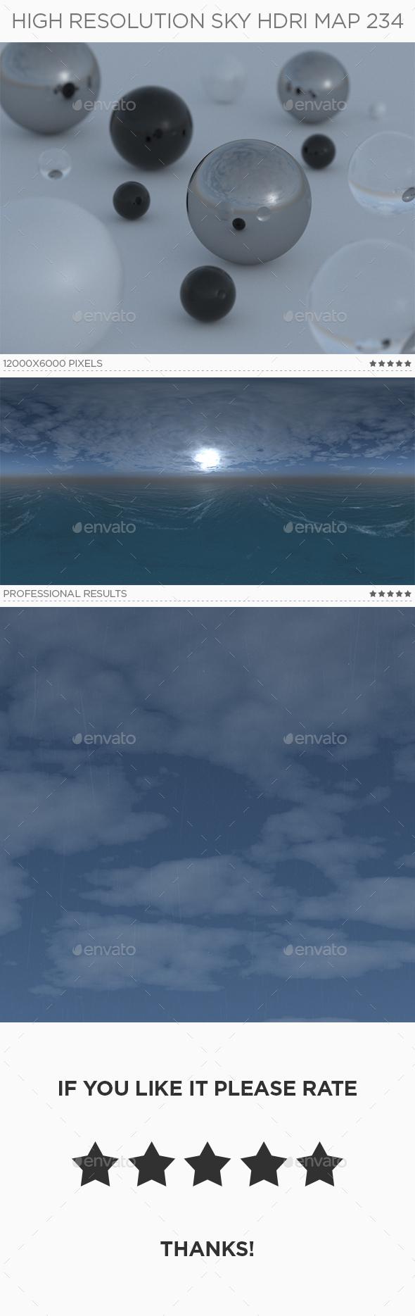 High Resolution Sky HDRi Map 234 - 3DOcean Item for Sale