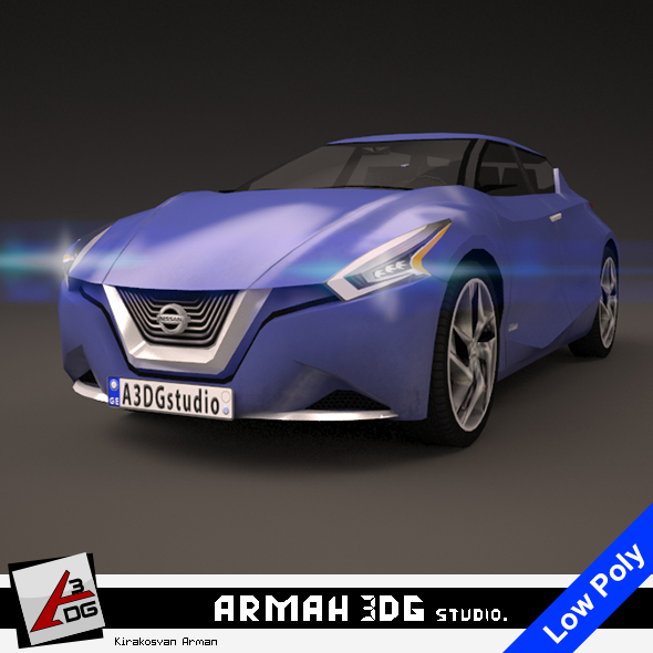 Nissan Friend-ME 2013 - 3DOcean Item for Sale