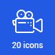 20 Photo and Video Icons