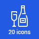 20 Party Icons