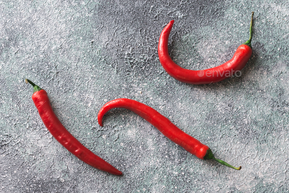 Fresh chili peppers - Stock Photo - Images