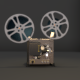 Old Projector With Countdown Intro - VideoHive Item for Sale