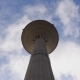 Water Tower Against a Blue Sky with Clouds - VideoHive Item for Sale