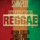 Unashamedly Reggae Flyer - GraphicRiver Item for Sale
